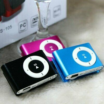 Metal Mini Clip MP3 Player Sport Digital Music Support TF Card MP3 USB 2.0 QW
