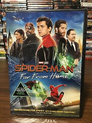 Spider-Man: Far From Home DVD NEW