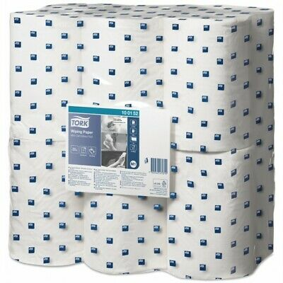 1ply White Adv Centrefeed Wiper 12x120m 100152 Tork Genuine Top Quality Product