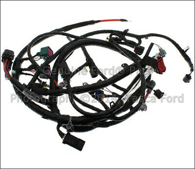 New Oem Engine Wiring Harness 2004 Ford F Series Sd Excursion #4C3Z-12B637-Aa