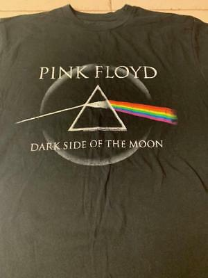 Pink Floyd Large T shirt Classic Rock Roger Waters Dark Side of the Moon England