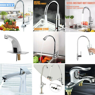 10 Types Water Filter Hot Sink Faucet Sink Mixer Tap Thermostatic Mixing Valve