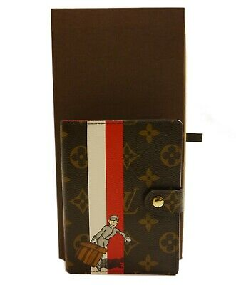 Authentic LOUIS VUITTON Agenda PM Bellboy Limited PVC #8519