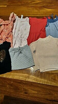 Girls bulk size 5 -6 Country road, H&M, bonds,cotton on...  7 items- 1 is BNWT