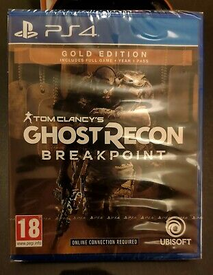 NEW&SEALED Ghost Recon Breakpoint Gold Edition PS4 Playstation 4  Season Pass