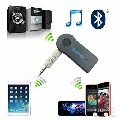 Aux 3.5mm Blutooth Wireless Car Music Audio Bluetooth Receiver Adapter Kit SP