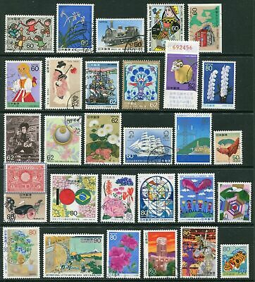 Japan - collection of 50+ different used stamps - Good selection