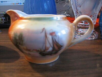 #T63 Old Lustre Creamer Made Germany 2.5""