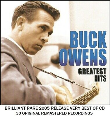 Buck Owens - Very Best 30 Greatest Hits Collection - RARE 2005 Country Music CD
