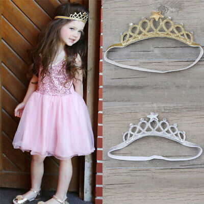 Kids Baby Girl Cute Toddler Lace Flower Hair-Band Headwear Headband Acces HRY