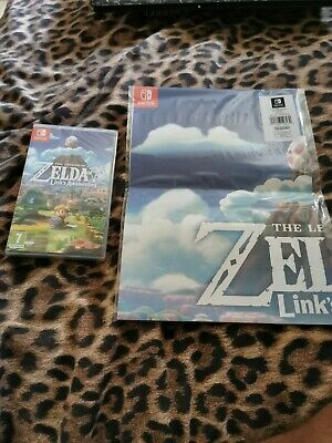 Nintendo Switch The Legend Of Zelda Links Awakening New And Sealed with poster.