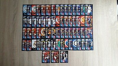 Job Lot - Topps - 63 Match Attax Champions & Europa League 19/20 -Cards No Dupes