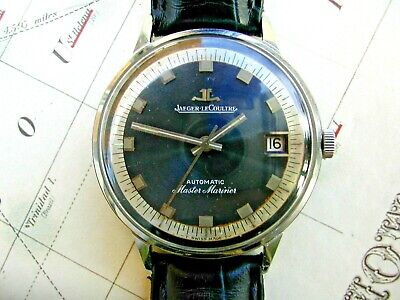 Jaeger Lecoultre Automatic Master Mariner Gent's, Rare Blue Dial.  Serviced K883