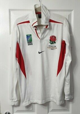 England Rugby Shirt World Cup Champions 2003.Large.worn Once Exc Condition