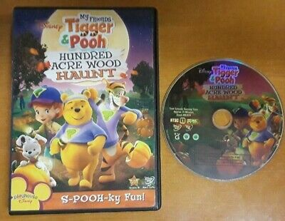 DISNEY My Friends Tigger & Pooh Hundred Acre Wood Haunt DVD Genuine NO SCRATCHES