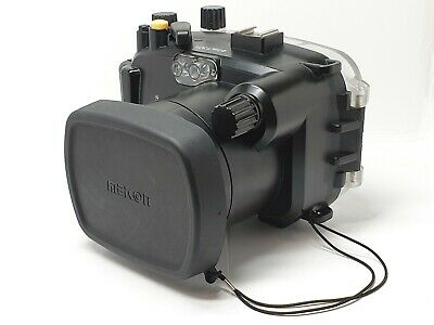 40m Underwater Housing Scuba Dive Diving Camera Case for Sony NEX-6 NEX6 18-55mm
