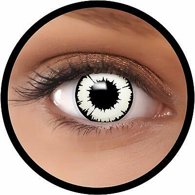 "FXEYEZ Lentillas de Color""New Vampir"" + recipiente de FXEYEZ en blanco,"