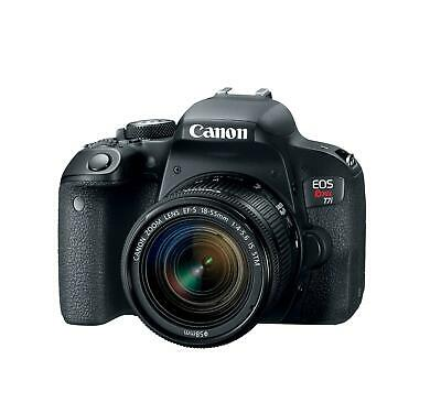 Canon 1894C002 EOS Rebel T7i DSLR Camera with 18-55mm Lens