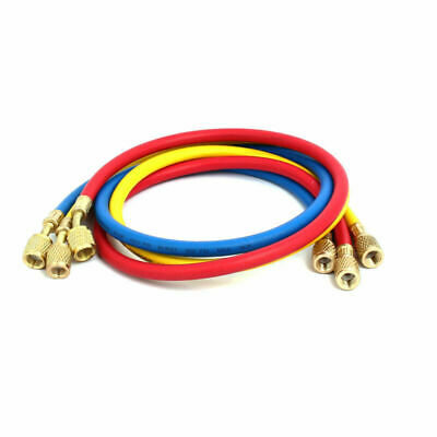 1/4 To 5/16 Refrigeration Charging Hose Fits For AC Refrigerant R410 3 Colour