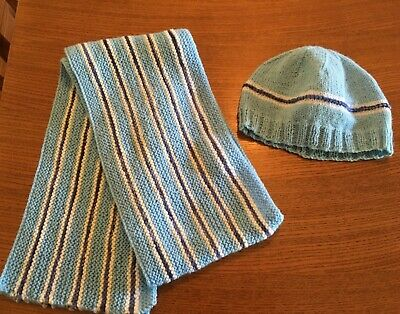 Beanie Plus Matching Scarf, Very Good Condition