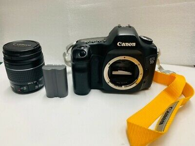 Canon EOS 5D Mark 1 Classic Full Frame 12.8MP with Batteries & Lens
