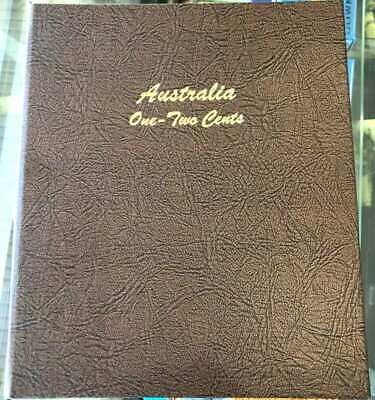 Brand New! DANSCO Supreme Coin Album Australia 1c One & 2c Two Cent 1966 - 1991