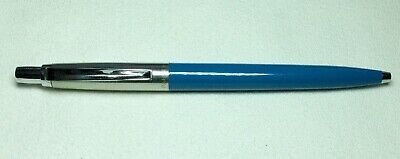 Vintage Groove Clipped Jotter Ball Pen Brass Threads Excellent Working Mid '50's