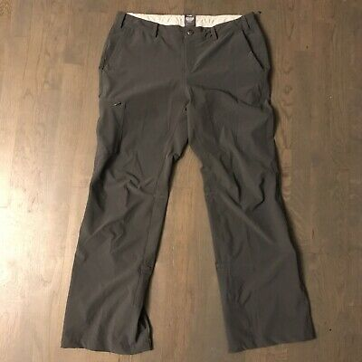 REI Roll Up Convertible Pants Hiking Pants Gray Woman's Size 12P Petite