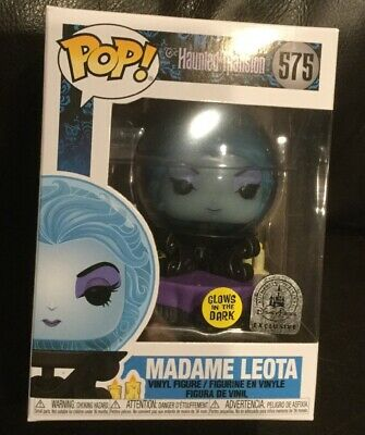 New Funko POP Disney Parks Haunted Mansion 50th Anniversary Madame Leota GITD