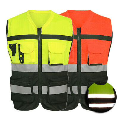 Reflective Vest Reflector Jackets Visibility Safety Clothing For Bike Runners