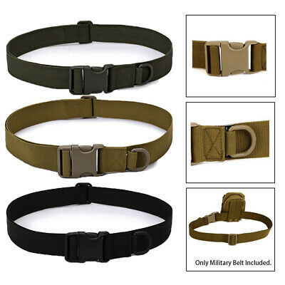 Equipment Riding Fastening Tape Military Belts Waist Back Support Tactical Belt