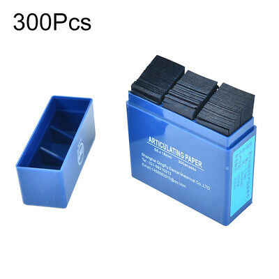 300 sheet dental articulating paper dental lab products teeth care blue striY xh