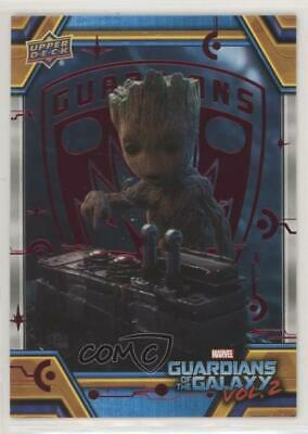 2017 Upper Deck Guardians of the Galaxy Volume 2 Red/49 #73 The Button Card 0ad