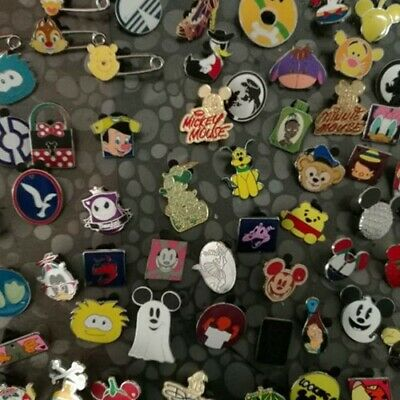 Disney trading lot of 25 75 100_Assorted pins  random-Hidden mickey Cast Lanyard
