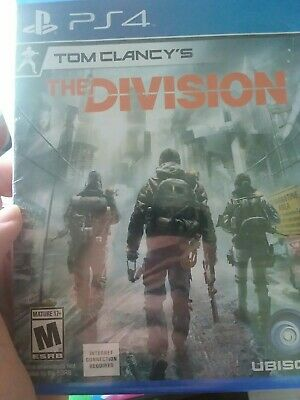 Tom Clancy's The Division (Sony PlayStation 4, 2016)BRAND NEW