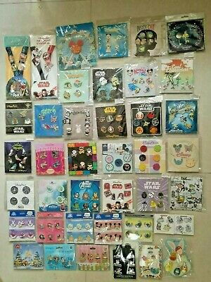 Disney TRADING PINS! Brand New 25 pins  Booster pack lot choose 3 Sets