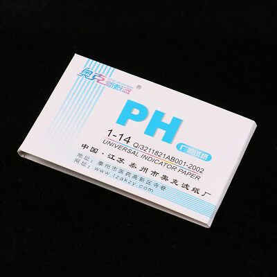 Ph Meters Indicator Paper Ph Value 1-14 Testing Papers Testers Urine Health C xh