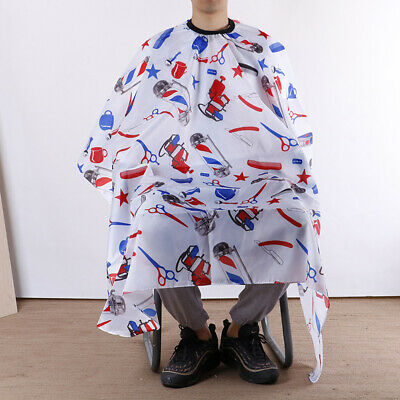 Pro Salon Haircut Hairdresse Cape Waterproof Barber Hair Gown Wrap ClothApron~GN