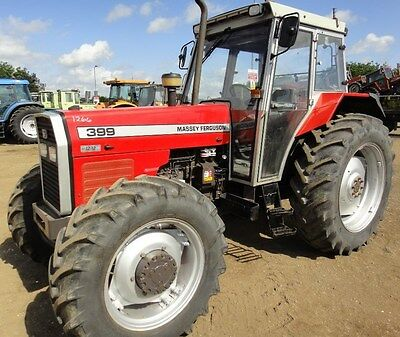 Massey Ferguson Mf300 Tractor Shop Service Manual Mf390 Mf393 Mf396 Mf398 Mf399