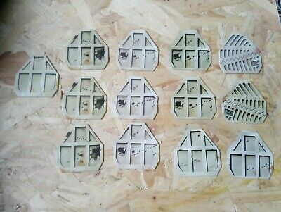GAMES Workshop SPACE CRUSADE SPARE PARTS doors x13 with bases