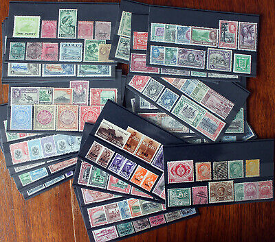 Ex Dealers Stock. Commonwealth Collection On 24 Stockcards. Various Era's.