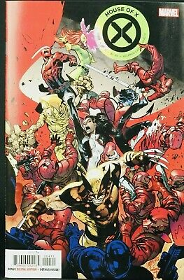 HOUSE OF X  #4 MAIN COVER MARVEL COMIC 2019 1st Print NM
