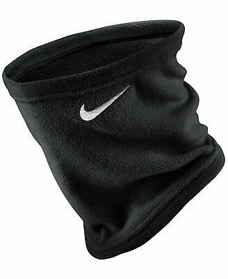Men's Nike Neck Warmer Snood Running Training Winter Scarf Fleece Black Football