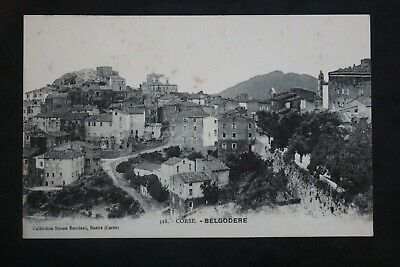 Carte Postale Ancienne CORSE - BELGODERE