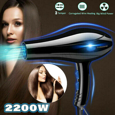 2200W For Hair Dryer Household Hairdryer Salon Nozzle Travel Beauty Professional