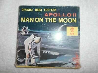 Apollo Ii-Man On The Moon-8Mm-Film-Official-Nasa-Footage