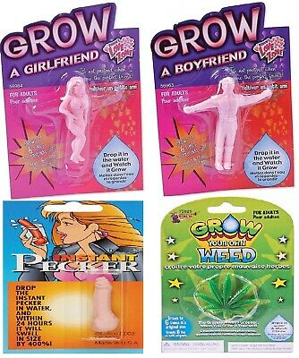 Grow Your Own Funny Joke Rude Adult Mens Womens Prank Birthday Gift Present A