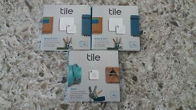 LOT 9 Tile Mate & Slim Combo 2x4 Pack +1 Bluetooth Key Finder Tracker 16004 NEW