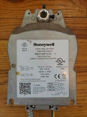 Honeywell MS4104F1210