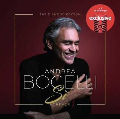 Andrea Bocelli Si Diamond Edition Target Exclusive W 2 Bonus Tracks Pop